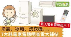 冷氣、冰箱、洗衣機...7大耗電家電聰明省電大補帖